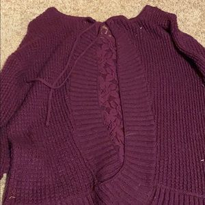 Knox Rose Sweaters - Purple Sweater